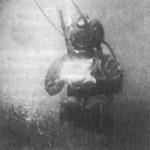 La primera fotografía bajo el agua