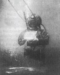 primera fotografía bajo el agua
