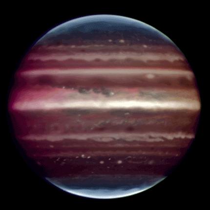 Fotografía de Júpiter de gran calidad