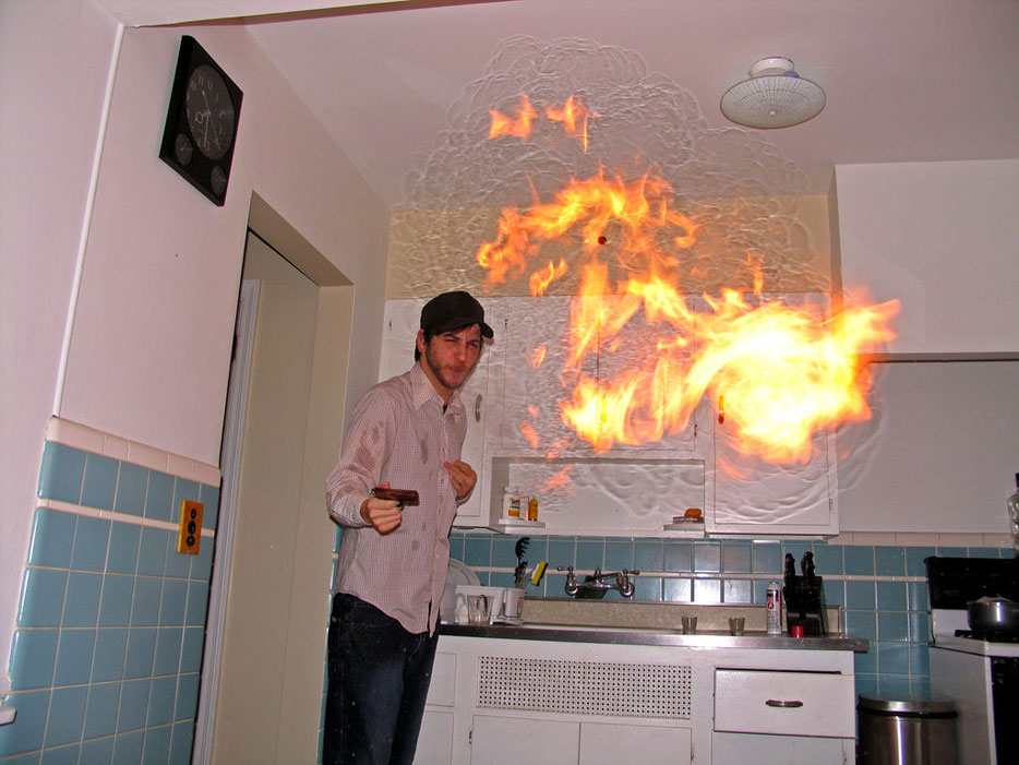 fuego cocina