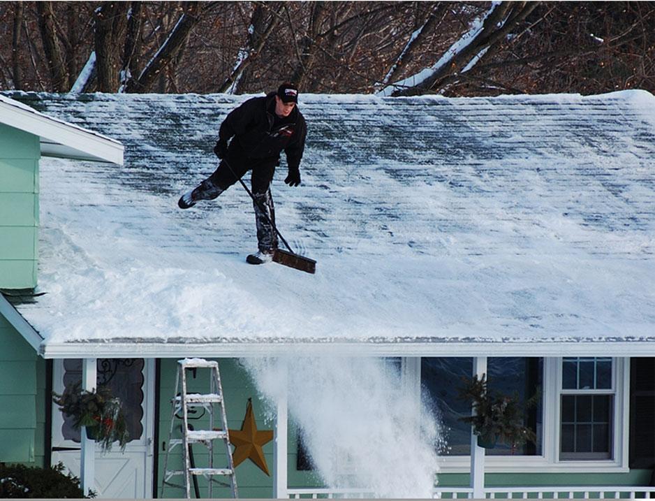 patinando tejado