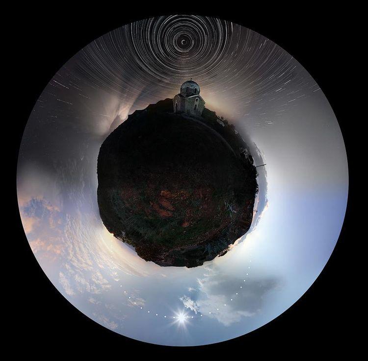 Foto de la vista de las 24 horas del cielo