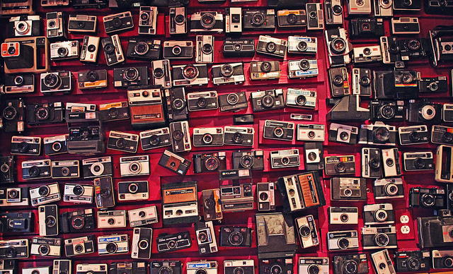 cámaras de fotos retro