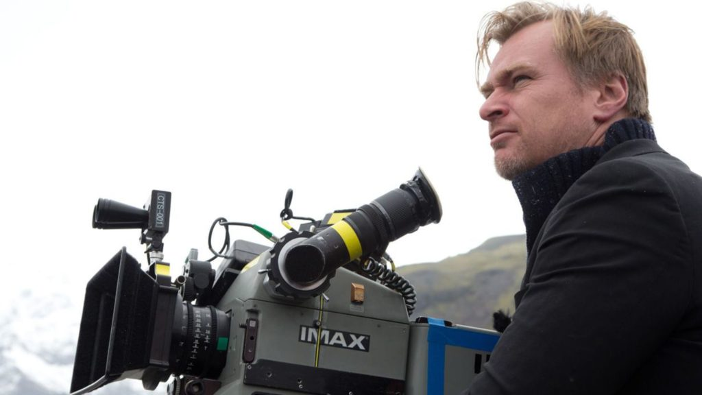 Christopher Nolan filmando Interstellar